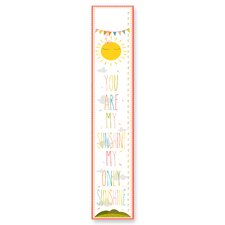 """The Kids Room """"You Are My Sunshine"""" Growth Chart"""