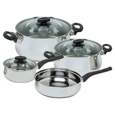 Deliss 7 Piece Stainless Steel Cookware Set