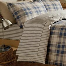 Tartan 100% Cotton Fitted Sheet