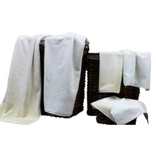 Yarn Dyed Jacquard 6 Piece Towel Set