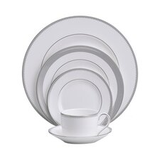 Grosgrain 5 Piece Place Setting, Service for 1