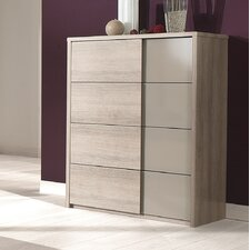 Quadra 4 Drawer Chest of Drawers