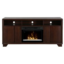 """Arkell 68"""" TV Stand with Electric Fireplace"""