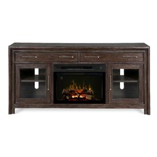 """Woolbrook 68"""" TV Stand with Electric Fireplace"""