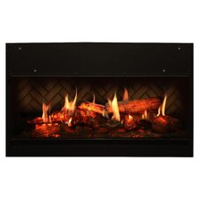 Opti-V Solo Wall Mount Electric Fireplace
