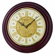 "Valetta 12.5"" Musical Wall Clock"
