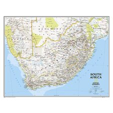 South Africa Classic Map