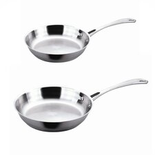 EarthChef 2-Piece Copper-Core Frying Pan Set
