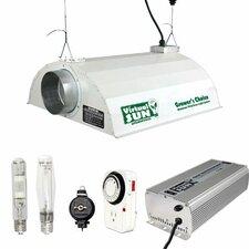 400 Watt HPS+MH Grow Light Hood Reflector Digital Ballast Kit