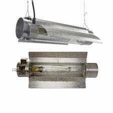600 Watt HPS MH Tube Enclosed Grow Light Hood Reflector