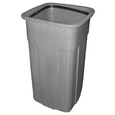 Slimline Trash Can