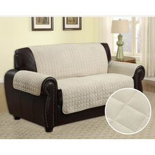 Quilted Microfiber Chair Slipcover