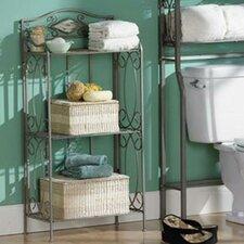 "Valleta Corner 18.75"" W x 36.75"" H Bathroom Shelf"