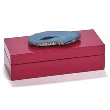 Agate Lacquered Jewelry Box