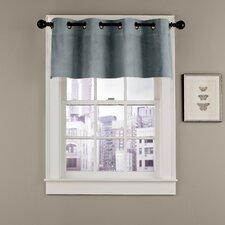 Velvet Soft Luxury Grommet Curtain Valance
