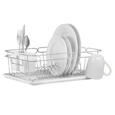 3 Piece Twisted Dish Rack Set