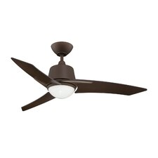 """44"""" Scimitar 3-Blade Ceiling Fan with Wall Remote"""