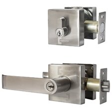 Constructor Guardian Single Cylinder Entrance Leverset