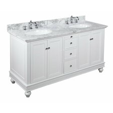 "Bella 60"" Double Bathroom Vanity Set"