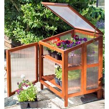0.6m W x 0.6m D Cold Frame Greenhouse