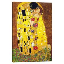 'The Kiss' by Gustav Klimt Graphic Art