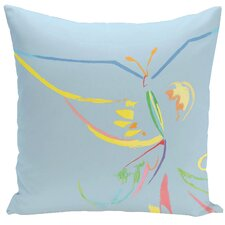 Decorative Butterfly Throw Pillow