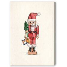 """Blakely Home Nutcracker by Olivia""""s Easel Canvas Art"""