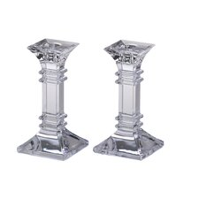 Treviso Crystal Candlestick (Set of 2)