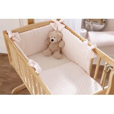 Dimple 2 Piece Cot Bedding Set