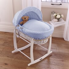 Dimple Wicker Moses Basket