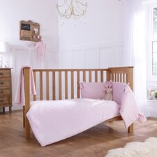 Dimple 3-Piece Cot Bedding Set