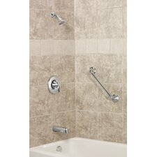 Moen Eva Posi-Temp Pressure Balance Tub and Shower Faucet Trim with Lever Handle
