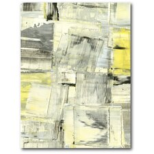 Zest II Painting Print on Wrapped Canvas