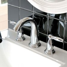 Swing C Double Handles Widespread Faucet Standard Bathroom Faucet