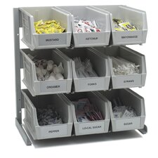 """Container Packet 18"""" H Three Shelf Shelving Unit"""