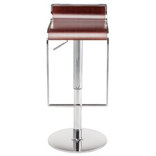 Nero Adjustable Height Swivel Bar Stool