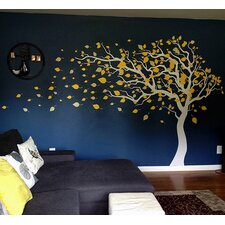Blowing in The Wind Wall Decal