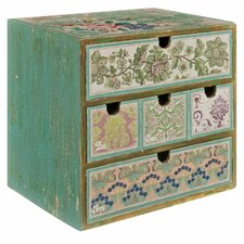 Patchwork Patterned Jewellery Box