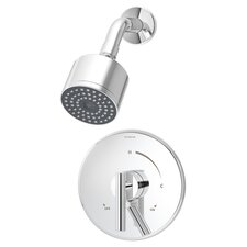 Dia Pressure Balance Shower Faucet with Lever Handle