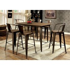 Reedley 5 Piece Counter Height Pub Set