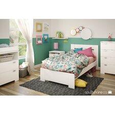 Reevo Twin Platform Customizable Bedroom Set