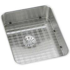"Gourmet 16.5"" x 20.5"" Undermount Kitchen Sink with Perfect Drain"