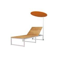 Oko Steamer Lounge Chair with Cushion