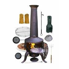 Tia Bundle Steel Chiminea