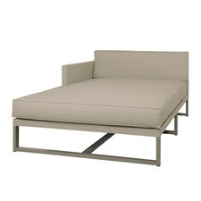 Mono Right Chaise Lounge with Cushion
