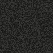 Illusions Petit Papillon 33' x 20'' Damask 3D Embossed Wallpaper