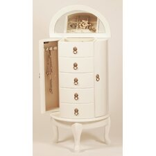 Jewellery Armoire with Mirror
