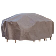 Rectangular Cappuccino Patio Set Cover