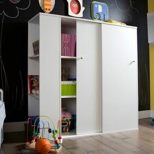 Storit Kids Storage Cabinet with Sliding Doors