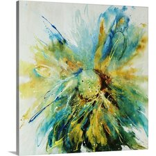'Cornflower' by Farrell Douglass Painting Print on Canvas